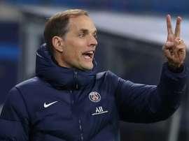Thomas Tuchel was sacked by Paris Saint-Germain in December. AFP