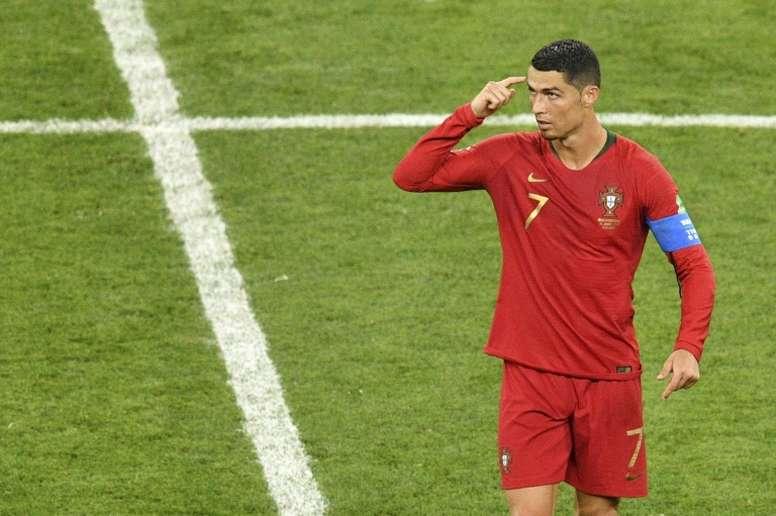 Forlan says neutralising Ronaldo is the key to Uruguay success. AFP