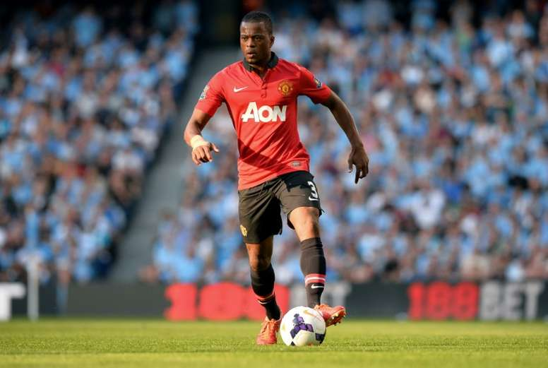 Patrice Evra has revealed a furious row with Man United executive vice-chairman Ed Woodward. AFP