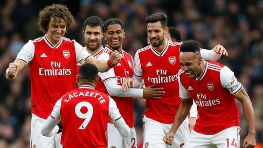 O Arsenal se interessa por um transferível do Barça. AFP