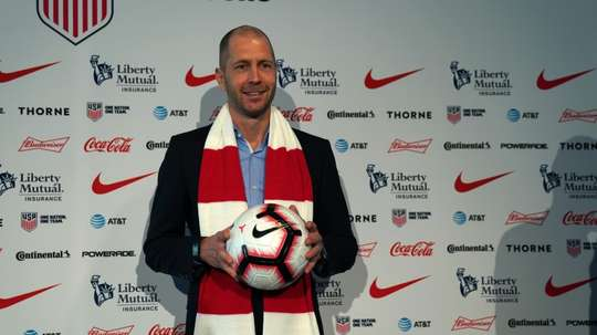 The new United States coach is determined to bring an attacking style to the team. AFP