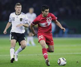 Sahin se estreou muito novo pela seleção nacional. AFP