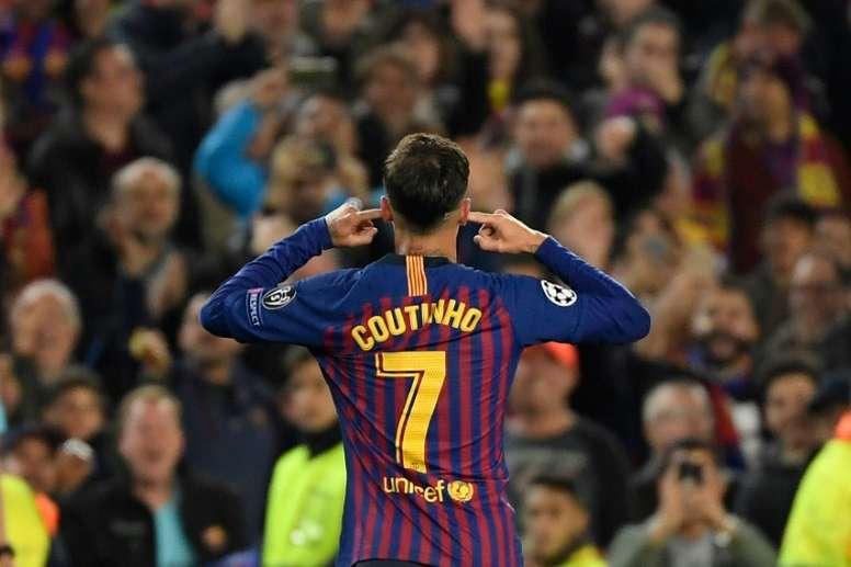 Fichajes y rumores: El PSG va en serio a por Coutinho. AFP