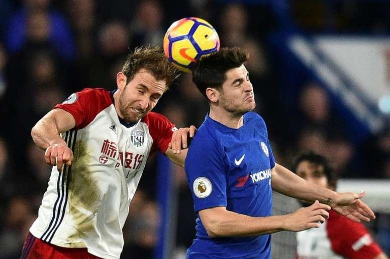 Morata regrets playing through pain. AFP