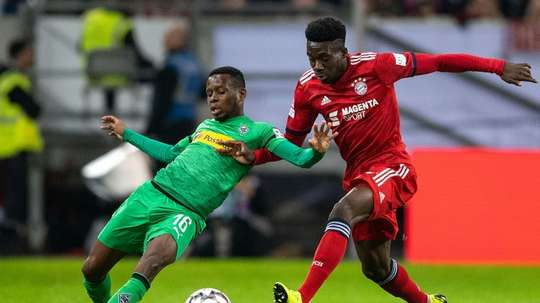 Bayern will be hoping new arrival Alphonso Davies can help their title push. AFP