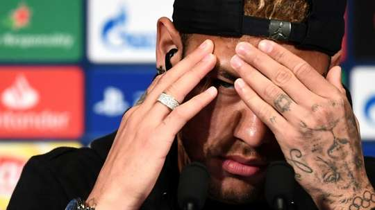 Neymar was wanted by Barca. AFP