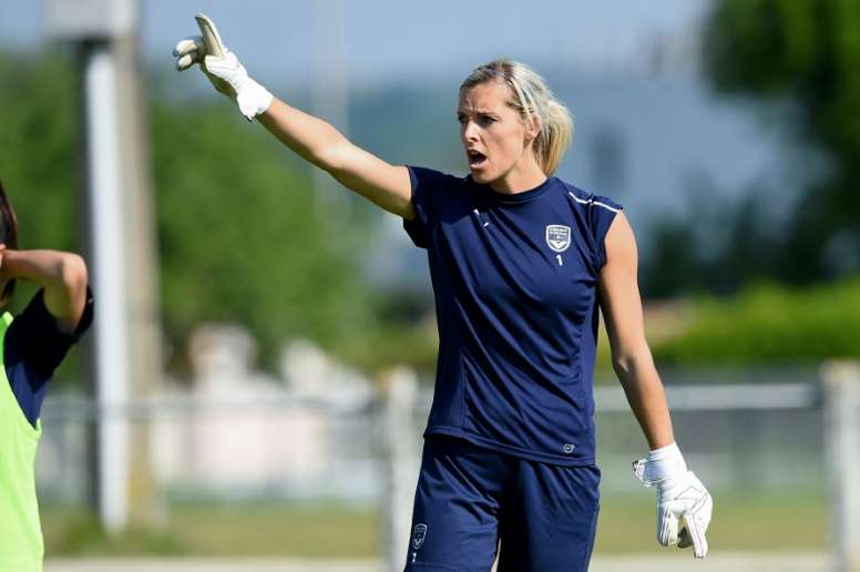 Erin Nayler is hoping for a successful world cup with New Zealand. AFP