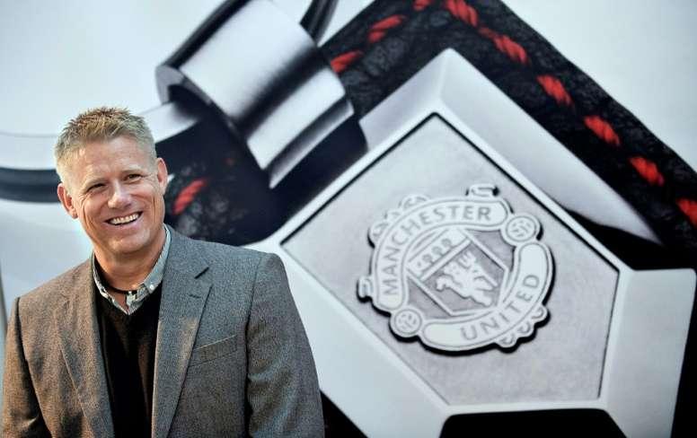 Peter Schmeichel criticó la actitud de Mourinho tras ser despedido por el United. AFP