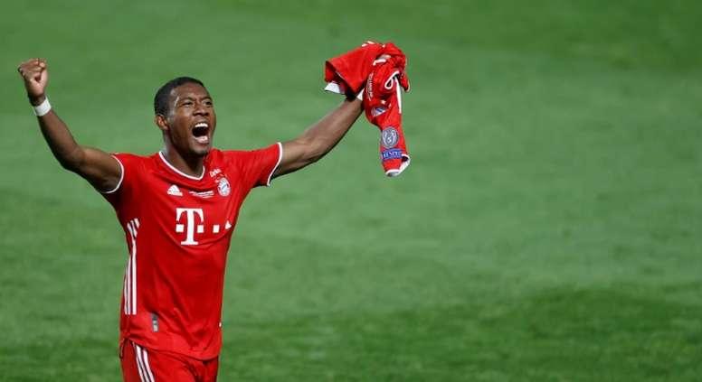 El defensa del Bayern sigue sin renovar. AFP
