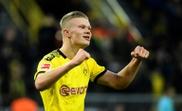 Dortmund teen Haaland goes head-to-head with PSG star Mbappe