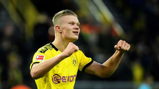 Dortmund teen Haaland goes head-to-head with PSG star Mbappe