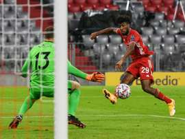 Flick challenges Coman to bring Champions League form to Bundesliga. AFP