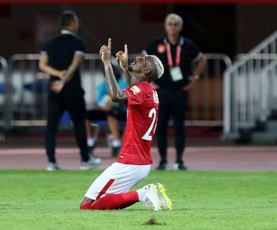 Talisca enjoyed a fine CSL debut. AFP