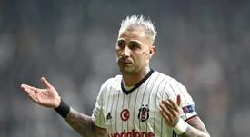Quaresma foi castigado com três jogos pela sua entrada dura que ditou a sua expulsão. AFP