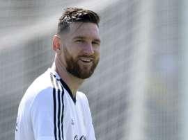 Messi Copa do Mundo. AFP