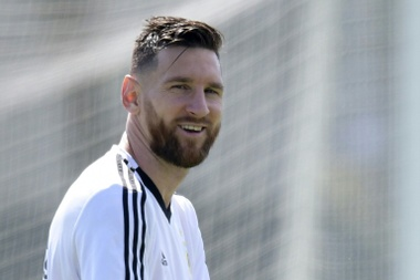 Leo Messi ne pourra pas jouer avec l'Argentine une année de plus. AFP