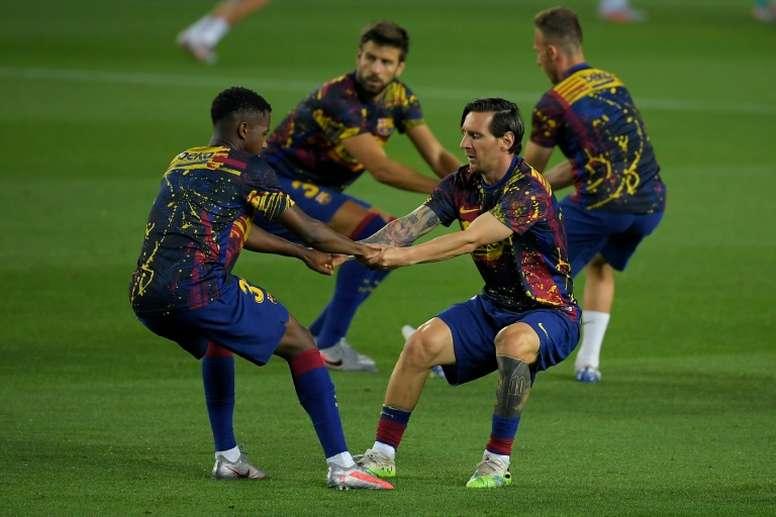 Los jugadores no quieren bajarse el sueldo. AFP