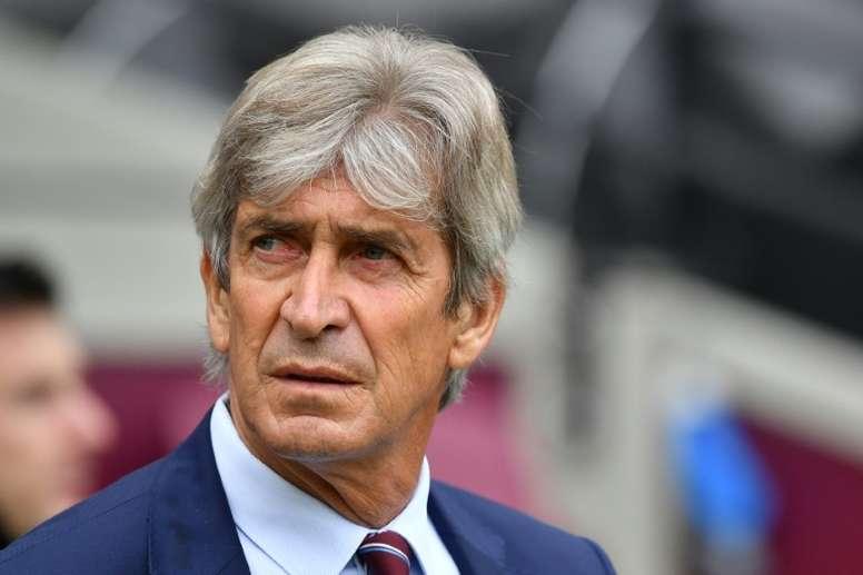 Manuel Pellegrini praised his youngster. AFP