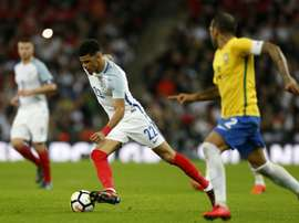 All of Solanke's goals this season have come with England U21s. AFP
