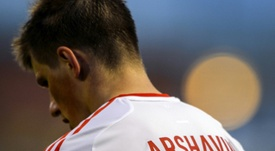 Arshavin lamentó su fichaje frustrado. AFP