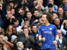 David Luiz falou sobre a possível saída de Hazard. AFP