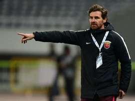 Villas-Boas deixou o comando técnico do Shanghai SIPG. AFP