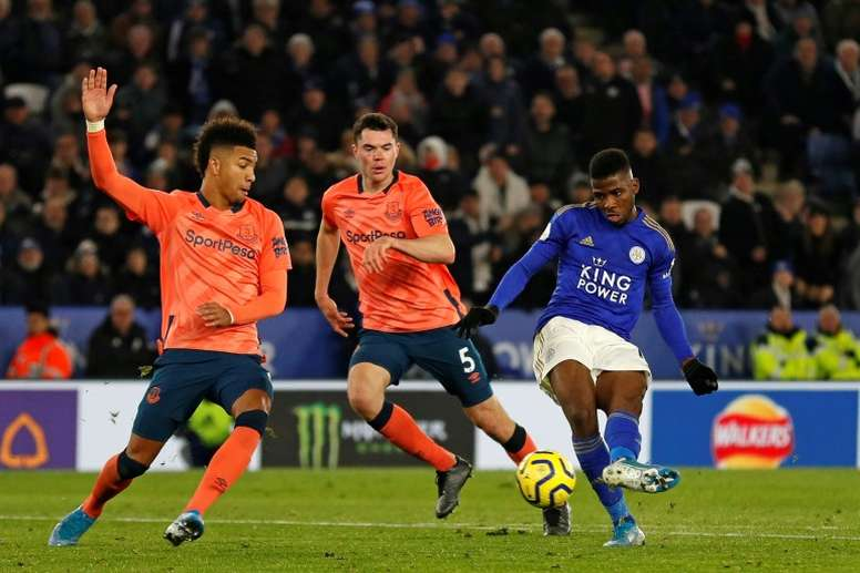 Iheanacho was one of the Africans in Europe to perform well last weekend. AFP