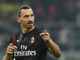 Ibra has scored over 50 goals for both Milan clubs. AFP