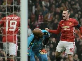 Wayne Rooney. AFP
