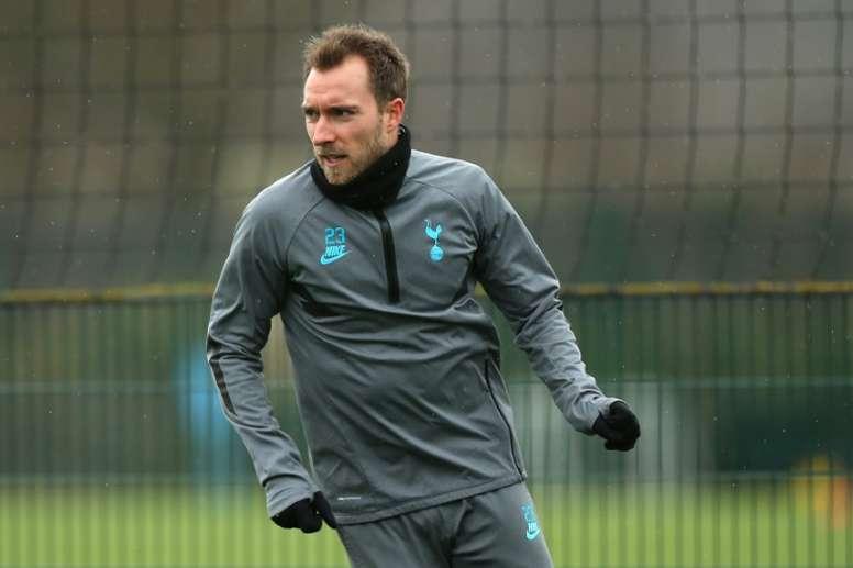 Réunion imminente entre Tottenham et l'Inter pour Eriksen. AFP