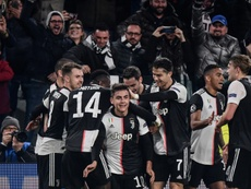Juventus won 1-0. AFP