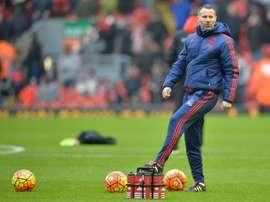Ryan Giggs será nombrado seleccionador de Gales en las próximas horas. AFP/Archivo