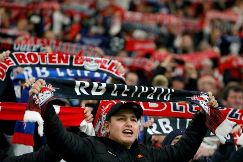 Leipzig set to start season in front of 8,400 fans. AFP