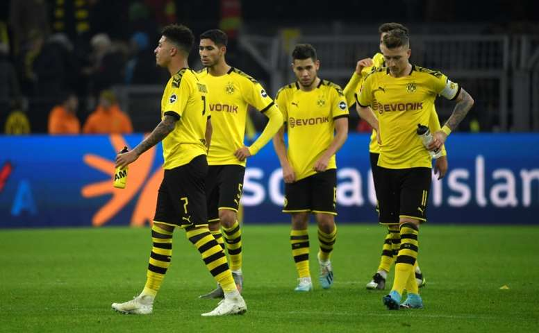 El Dortmund empató frente al Paderborn. AFP