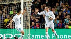 Bale, uno de los candidatos a irse en verano. AFP
