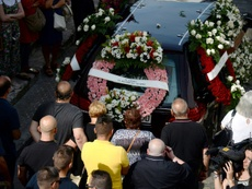 Jose Antonio Reyes was laid to rest this Monday in his home town. AFP