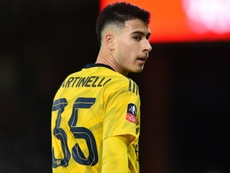 Arsenal's Martinelli ruled out until end of 2020