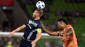 Melbourne Victory edge win in Champions League opener. AFP
