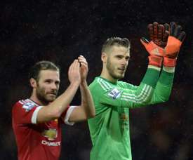 Mata and De Gea are the most important in the team. AFP