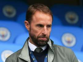 Southgate watched Manchester City last weekend. AFP