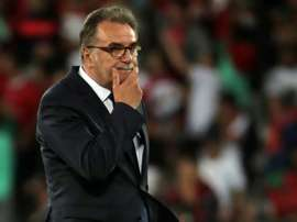 Ante Cacic is looking to avoid an upset against Greece. AFP