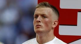 Pickford será titular en Sevilla. AFP