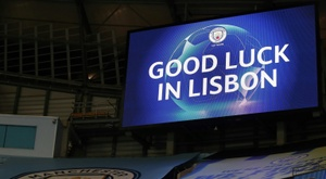 Man City look to Lisbon as best shot for Champions League glory. AFP