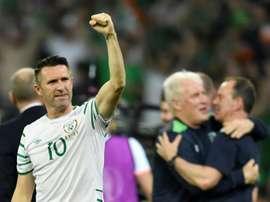 Robbie Keane dice addio al calcio giocato. AFP
