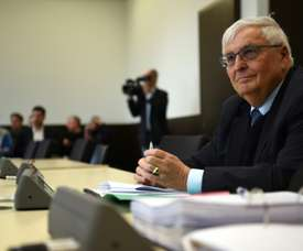 Theo Zwanziger has hit out at the Swiss judicial case after being charged with fraud. AFP