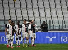 Les joueurs de la Juve renoncent à quatre mois de salaires. AFP