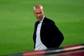 Zidane garantiza un título cada 19 partidos. AFP