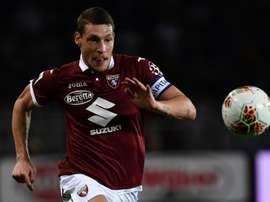 Le Torino réagit pour Belotti. AFP