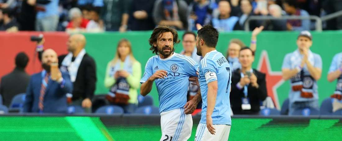 El New York City logró un empate valioso ante el Dallas. AFP