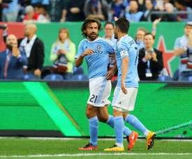 El New York City logró un empate valioso ante el Dallas. AFP